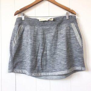 Icebreaker Merino Zoya Grey Skirt Size XL